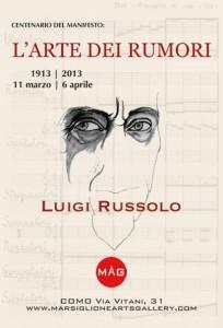 Luigi Russolo l'Arte dei Rumori