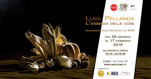 Things' Essence Solo Show by Luigi Pellanda