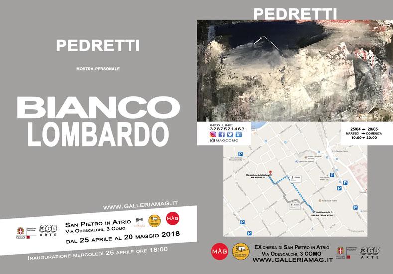 Bianco lombardo, mostra personale di Antonio Pedretti