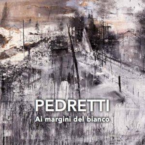 Catalogo mostra Ai margini del bianco del Maestro Antonio Pedretti presso sala Liguria a Palazzo Ducale di Genova
