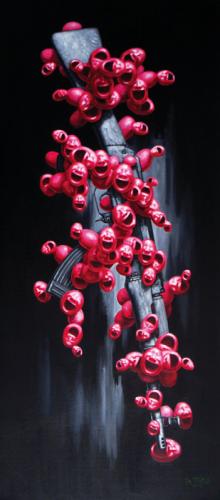 Qiuchi Chen, AK47 gun Size