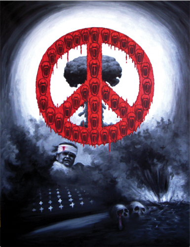 Qiuchi Chen, Anti war