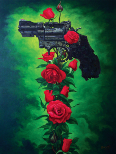 Qiuchi Chen, Rose and guns 2
